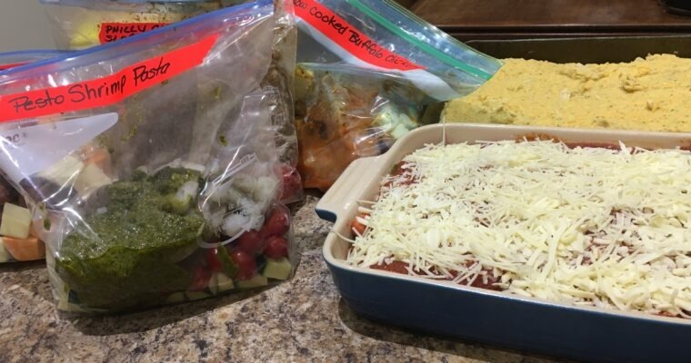 Meal Prepping – The 5 Dinners in 1 hour Meal Prep System