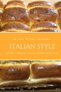 Cheesy Italian Club Sliders