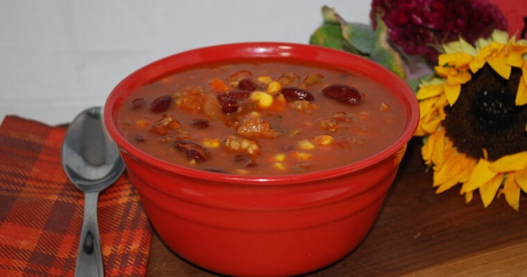 Italian Sausage & Vegetable Soup (Instant Pot or Stove Top)