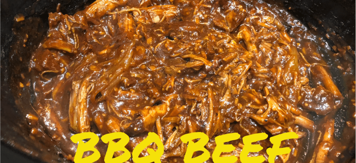 Crock Pot BBQ Beef Sandwiches