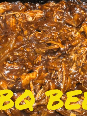 Shredded BBQ Beef Title