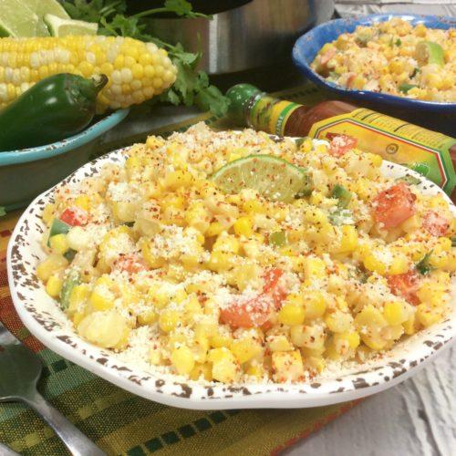 Instant Pot Mexican Corn