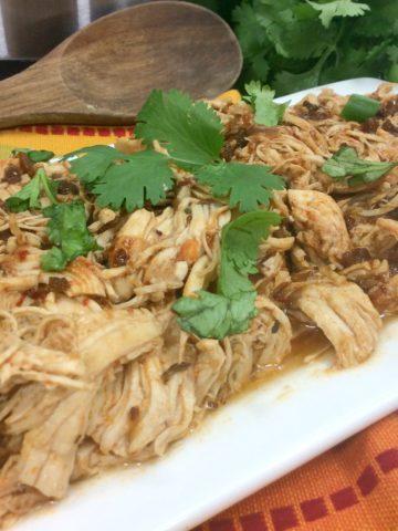 Instant Pot Mexican Shredded Chicken