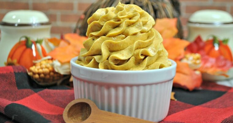 Sweet Taste of Fall:  Whipped Pumpkin Honey Butter