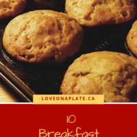 Baked Muffins for Breakfast