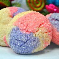 Baked Sugar Plum Cookie