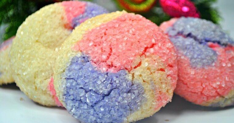 Sugar Plum Sparkle Cookies