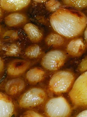 Brown Sugar Glazed Onions
