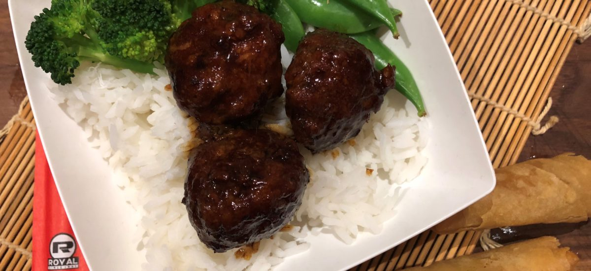 20 Minute Honey Garlic Meatballs