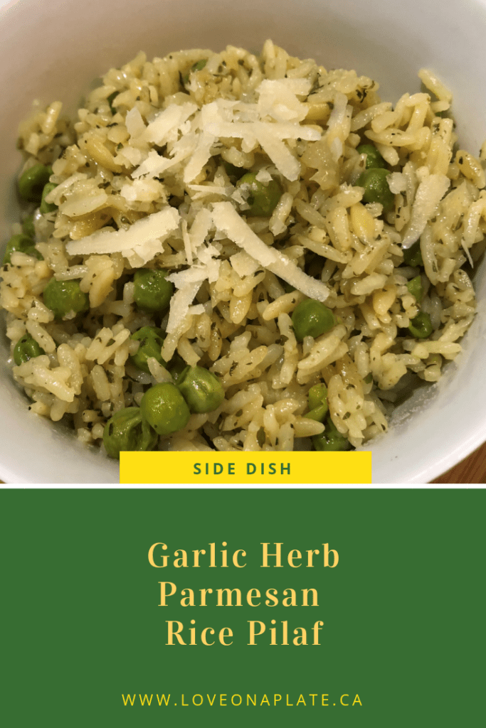 Garlic Herb Rice Pilaf