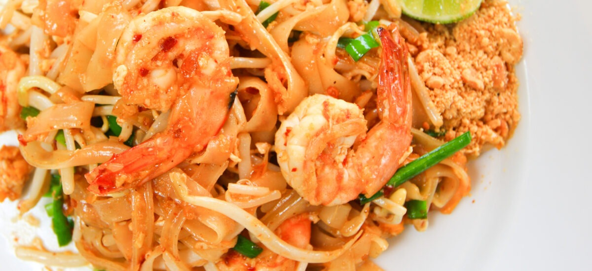Thai Shrimp Noodles