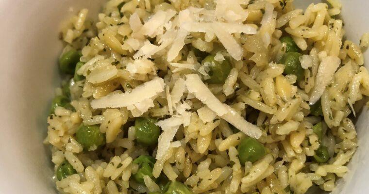 Instant Pot Garlic Herb Rice Pilaf