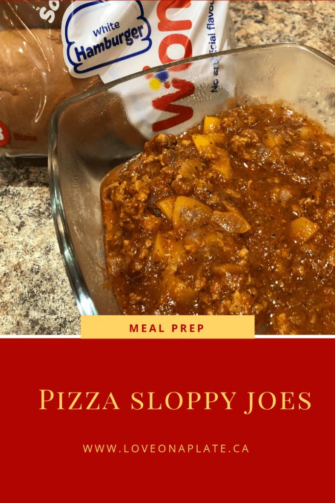 Pizza Sloppy Joes