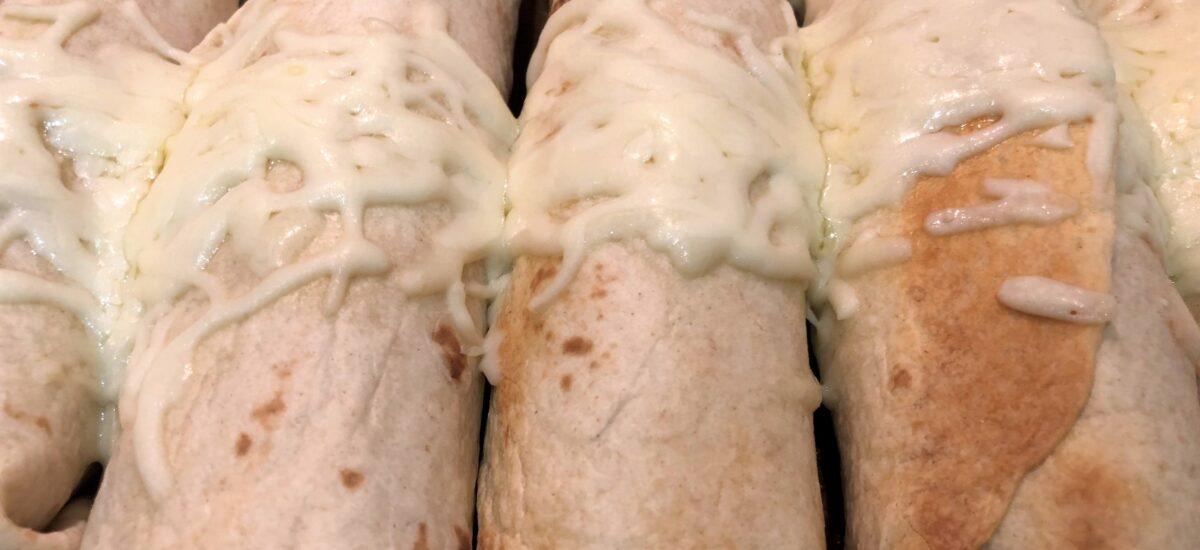Baked Chicken & Ham Taquitos
