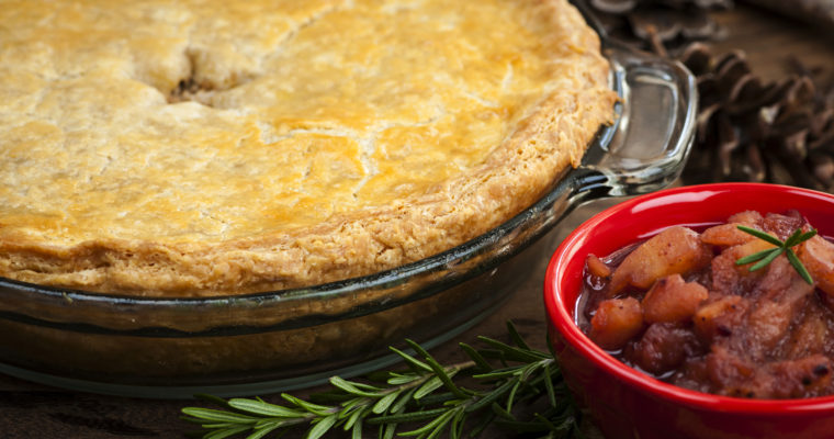 Best Tourtière ever; a Brooks family tradition