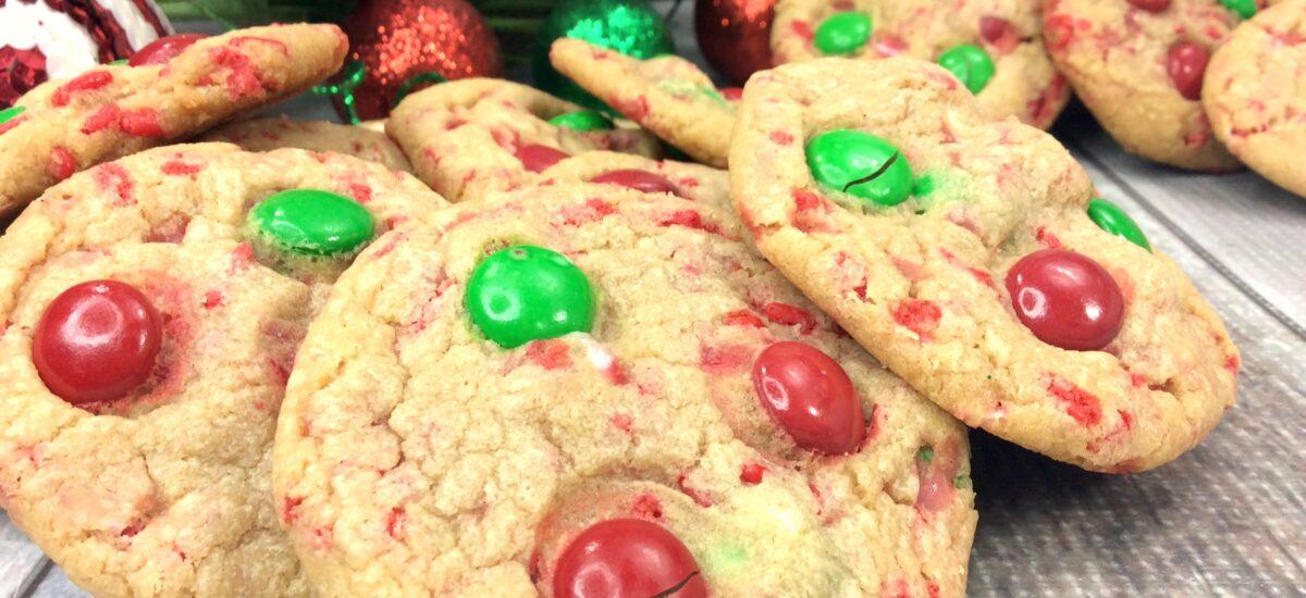 Santa Pudding Cookies