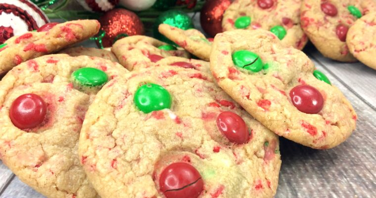 Santa Pudding Cookies