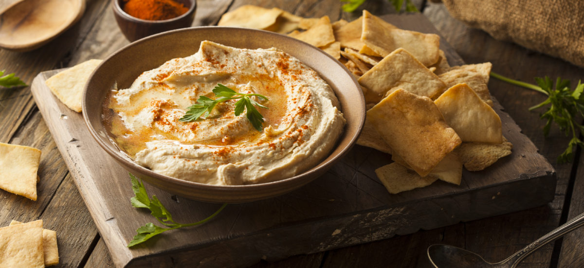 Creamy Hummus; from scratch