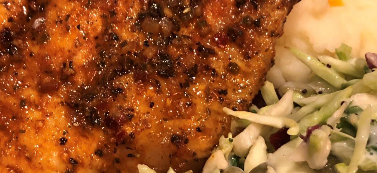 Pan Fried Cajun Catfish with Browned Butter