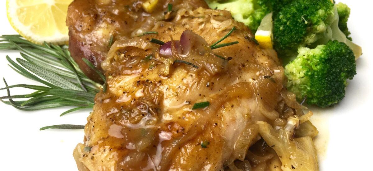 Instant Pot Lemon Olive Greek Chicken