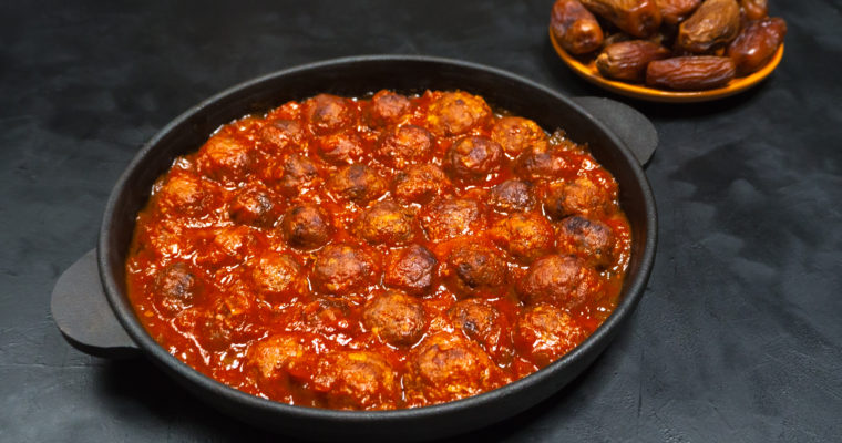 Moroccan Meatballs; Crockpot, Instant Pot, or Oven