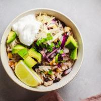 Instant Pot Tex Mex Burrito Bowl