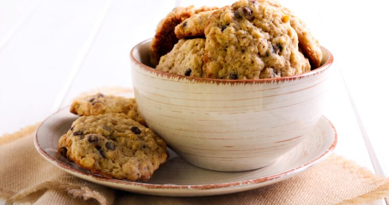 Banana Chocolate Oat Cookies