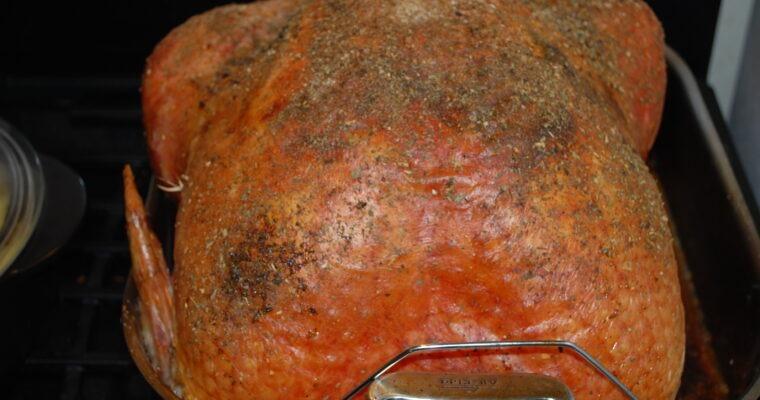 How to brine a turkey; with a twist