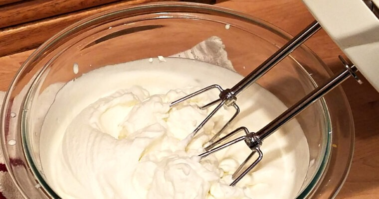 Sweetened Whipped Cream