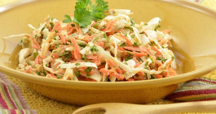 Sweet Coleslaw with Pineapple