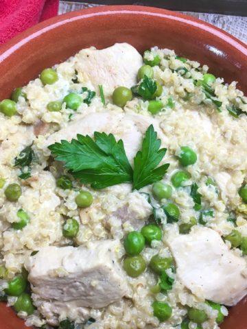Creamy chicken Quinoa