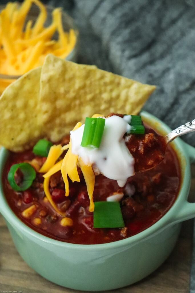 Fully loaded Instant Pot Chili