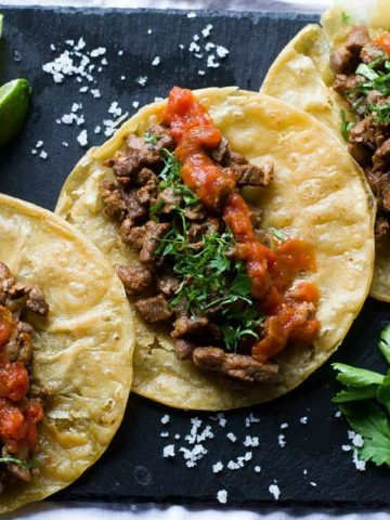 Tacos perfect for meal planning