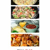 Meal Planning meals collage pin 1